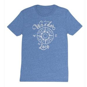 """Karma T-Shirt """"Not all Who Wonder are Lost"""""""